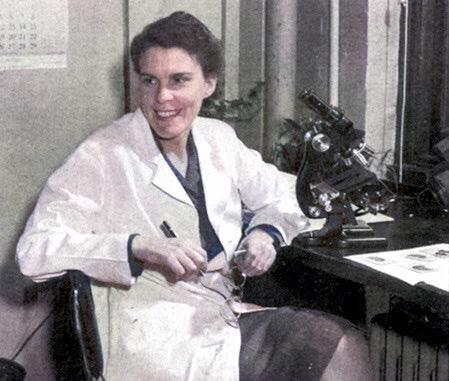 Isabel Morgan poliomielitis